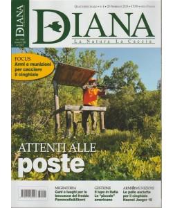 Diana: La Natura La Caccia- quattordicinale n. 4 - 28 Febbraio 2018