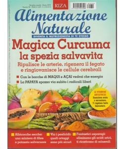 RIZA Alimentazione Naturale - mensile 30 Marzo 2018 Magica Curcuma