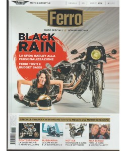 Ferro: Moto speciali, Uomini speciali - mensile n. 31 Marzo 2018