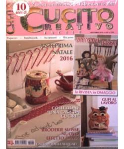 Cucito Creativo facile - mensile n. 99 Agosto 2016