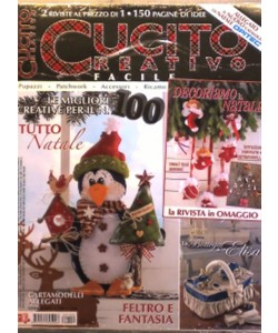 Cucito Creativo facile - mensile n. 100 Ottobre 2016
