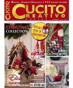 Cucito Creativo facile - mensile n. 112 Novembre 2017