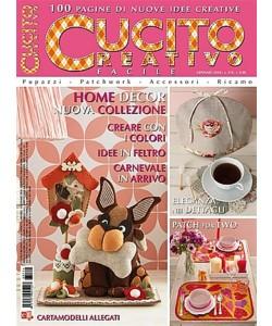 Cucito Creativo facile - mensile n. 114 Gennaio 2018