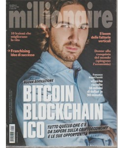 Millionaire - mensile n. 3 Marzo 2018 BITCOIN blockchain Ico