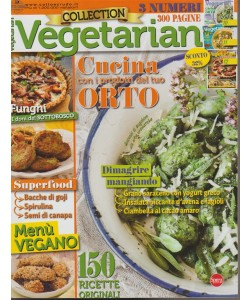Vegetarian Collection - bimestrale n. 4 Marzo 2018 - 3 numeri 300 pagine