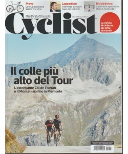 Cyclist - mensile n. 21 Marzo 2018 The thrill of the ride