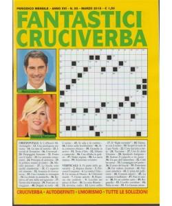 Fantastici Cruciverba - mensile n. 55 marzo 2018 Marco Liorni - Alessia Marcuzzi