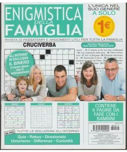 Enigmistica della Famiglia - bimestrale n. 17 Gennaio 2018 l'unica nel suo genere