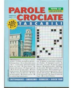 Parole Crociate Tascabili - trimestrale n. 15 Marzo 2018 - Pisa