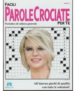 Facili Parole Crociate per Te - bimestrale n. 5 Febbraio 2018 Maria De Filippi