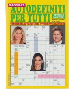 Raccolta Autodefiniti per Tutti - periodico culturale n. 286 Marzo 2018
