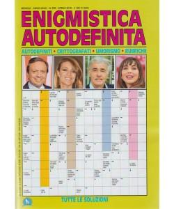 Enigmistica Autodefinita - mensile n. 338 - Aprile 2018