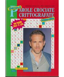 Speciale Parole Crociate Crittografate - Trimestr.n.74 Arile 2018  Ryan Reynolds
