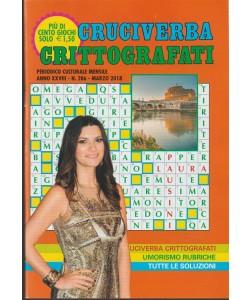 Cruciverba Crittografatati - mensile n. 286 Marzo 2018 - Laura Pausini