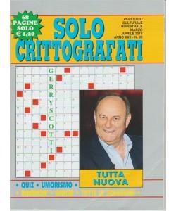 Solo Crittografati - bimestrale n. 95 - Marzo 2018 - Gerry Scotti