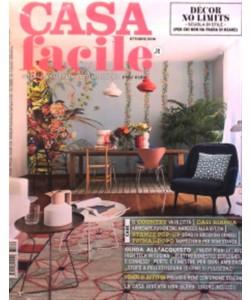 "Casa Facile - mensile n. 10 Ottobre 2016 ""Dècor no limits"""