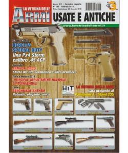 La Vetrina delle Armi: Usate e Antiche - Mensile n. 153 Febbraio 2018