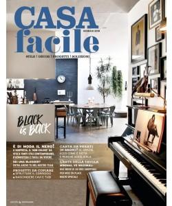 Casa Facile - mensile n. 1 Gennaio 2018 Black is Back