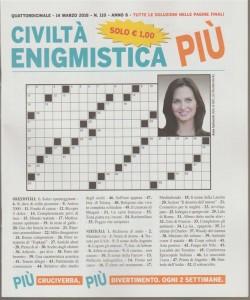 Civiltà Enigmistica Più - quattordicinale n.110 - 24 Marzo 2018- Anna Safroncik