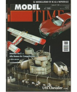 Model Time - mensile n. 260 Marzo 2018 USS Chevalier 1/144