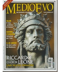Medioevo - mensile n. 254 Marzo 2018 - Riccardo Cuor di Leone