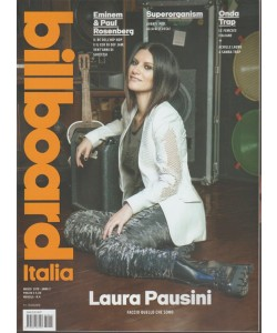 Billboard Italia - mensile n. 4 Marzo 2018 Laura Pausini: Faccio quelo che sono