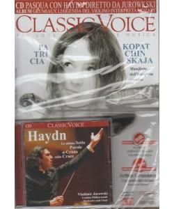 Classic Voice -mensile n.226 Marzo 2018+CD Pasqua con Haydn diretto da Jurowkski