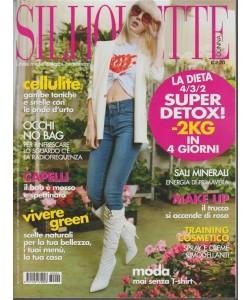 Silhouette Donna - mensile n. 4 Aprile 2018 Moda... mai senza T-shirt