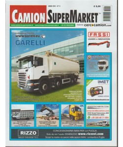 Camion Super Market - mensile n. 3 Marzo 2018