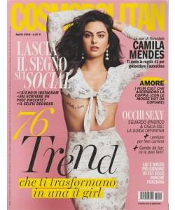 Cosmopolitan - mensile n. 4 Aprile 2018 Camila Mendes