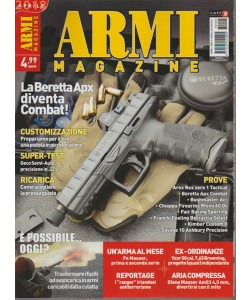 Armi Magazine - mensile n. 4 Aprile 2018 - La Beretta Apx diventa Combat!