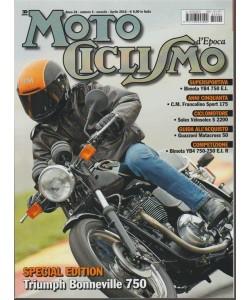 Motociclismo d'Epoca-mensile n.4 Aprile 2018 Triumph Bonneville 750 Special edition