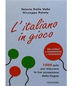 L'italiano in gioco di Valeria Della Valle e Giuseppe Patota - i libri di Donna Moderna