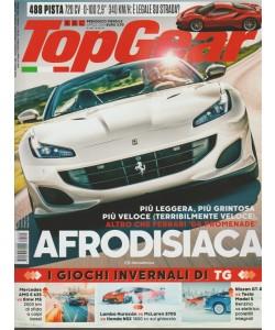 Top Gear - mensile n. 125 Aprile 2018 Afrodisiaca Ferrari