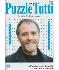 Puzzle X Tutti -  n. 95 bimestrale - 17 - febbraio 2018