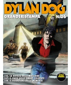 Dylan Dog Grande Ristampa - N° 36 - Il paese delle ombre colorate