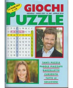 Giochi Puzzle - n. 348 - mensile aprile 2018