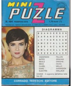 Minipuzzle - n. 484 - febbraio 2016