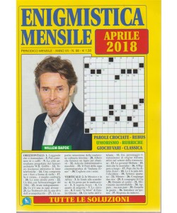 Enigmistica  Mensile -  n. 68 - periodico mensile - aprile 2018