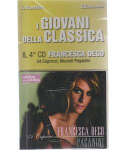 I Giovani Della Classica - Francesca Dego il 4° CD. - 24 Capricci, Niccolò Paganini