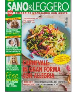 Sano & Leggero - mensile n. 2 Febbraio 2018 Dimagrire mangiando con gusto
