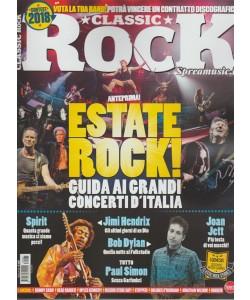 Classic Rock-mensile n.65 Aprile2018 Estate Rock!guida ai grandi cocerti d'Italia