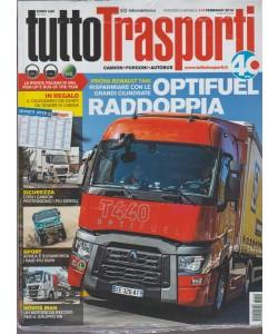Tuttotrasporti - mensile n. 413 Febbraio 2018 Camion, furgoni, autobus