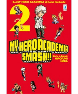 Manga: MY HERO ACADEMIA SMASH!! # 2 - Star comics collana Dragon #238