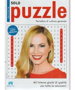 Raccolta solo puzzle n. 50 bimestrale 31/3/2018. Periodico di cultura generale