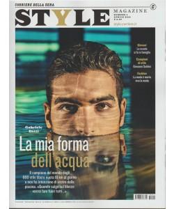 Style magazine- mensile n.4 Aprile 2018- Gabriele Detti: la mia forma dell'acqua