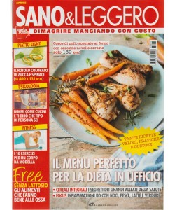 Sano & Leggero - mensile n. 4 Aprile 2018 by Mela Rossa