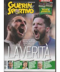 Guerin Sportivo - mensile n. 5 Maggio 2018 Doppio poster Milan & Juventus