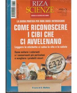 Riza Scienze - mensile n. 358 Aprile 2018 + La dieta anticancro
