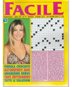 Facile - n. 77 - bimestrale - maggio - giugno 2018